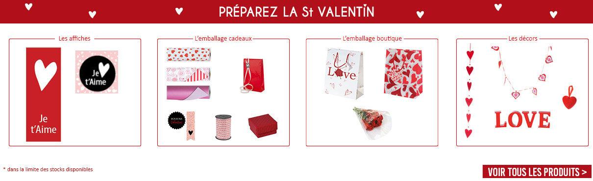 Préparez la St Valentin !