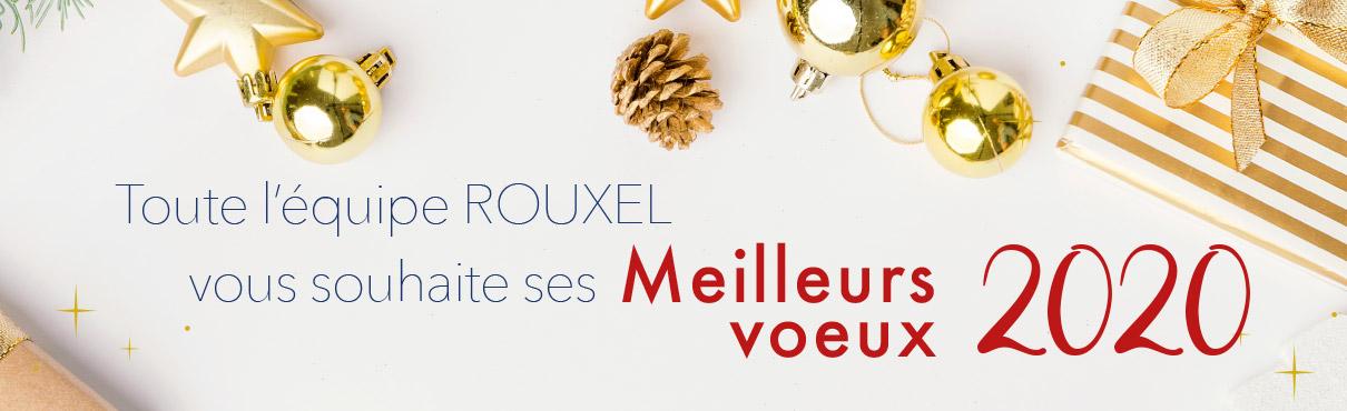 Rouxel vous souhaite ses meilleurs voeux pour 2020