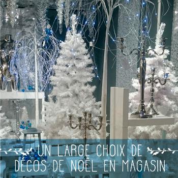 Décorations de Noël en magasin