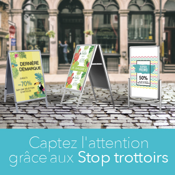 Le stop trottoir un excellent atout marketing