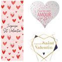 Affiches St Valentin
