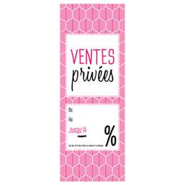 Affiches ventes privées