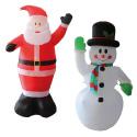 Décors de Noël gonflables
