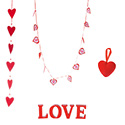 Décors de Saint Valentin