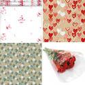 Papiers cadeaux et films St Valentin