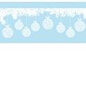 Stickers vitrines de Noël
